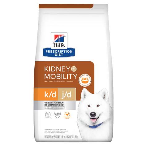 Hill's Prescription Diet k/d Kidney Care + Mobility Chicken Flavor Dry Dog Food
