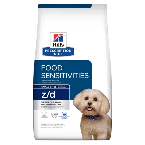 Hill's Prescription Diet z/d Skin/Food Sensitivities Small Bites Original Dry Dog Food