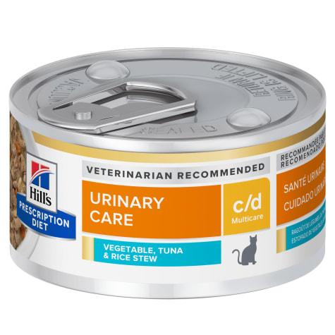 Hill's Prescription Diet c/d Multicare Urinary Care Tuna & Vegetable Stew Canned Cat Food