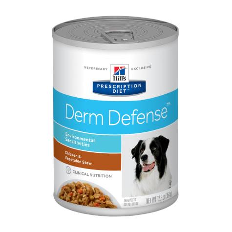 Hill's Prescription Diet Derm Defense Environmental Sensitivities Chicken & Vegetable Stew Canned Dog Food