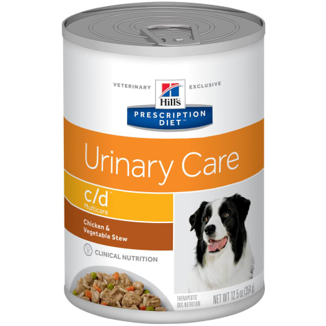 Hill's Prescription Diet c/d Multicare Urinary Care Chicken & Vegetable Stew Canned Dog Food