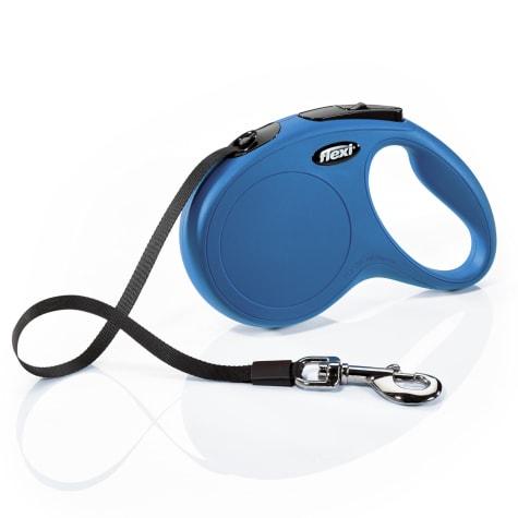 Flexi Classic Retractable Dog Leash in Blue, 16'
