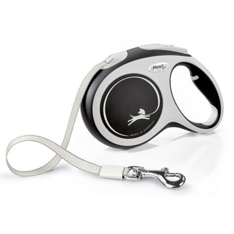 Flexi Comfort Retractable Dog Leash in Grey, 16'