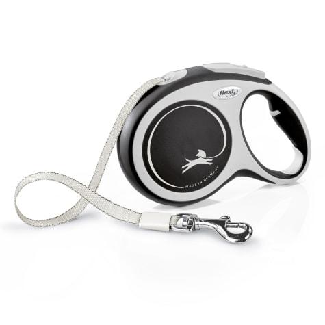 Flexi Comfort Retractable Dog Leash in Grey, 26'