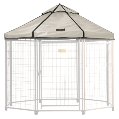 Advantek Pet Gazebo Canopy Beach Sand
