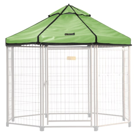Advantek Pet Gazebo Canopy River Grass