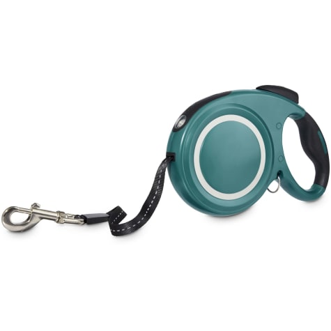 Good2Go Teal Retractable Lead With Flashlight For Dogs