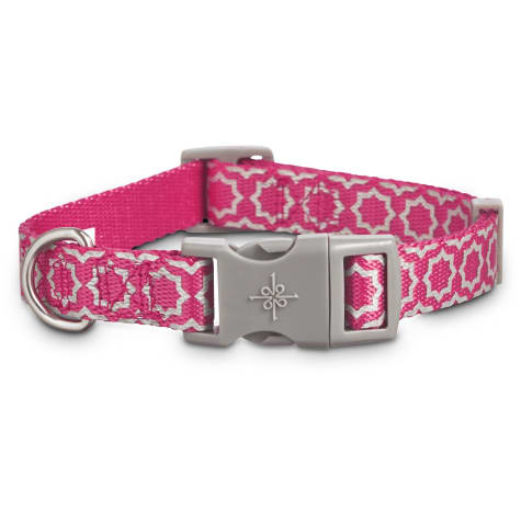 Good2Go Reflective Pink Starburst Dog Collar