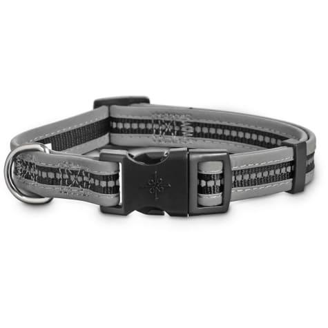 Good2Go Reflective Adjustable Dog Collar in Black