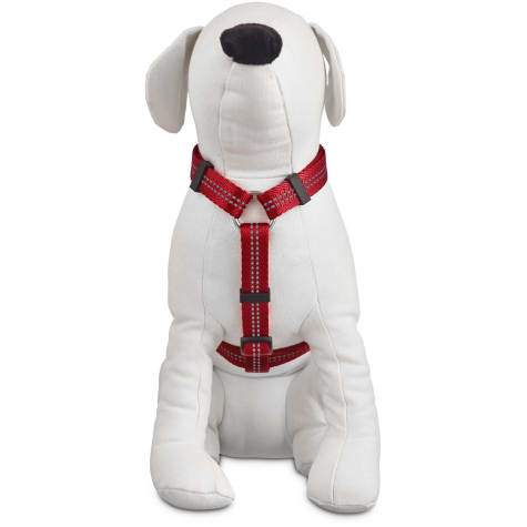 Good2Go Reflective Adjustable Dog Harness in Red