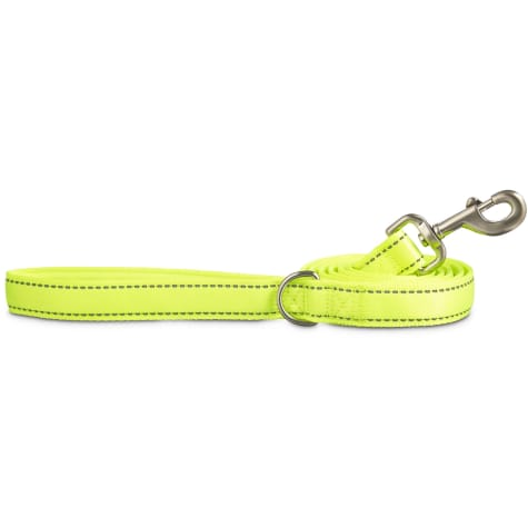 Good2Go Reflective Padded Leash in Yellow