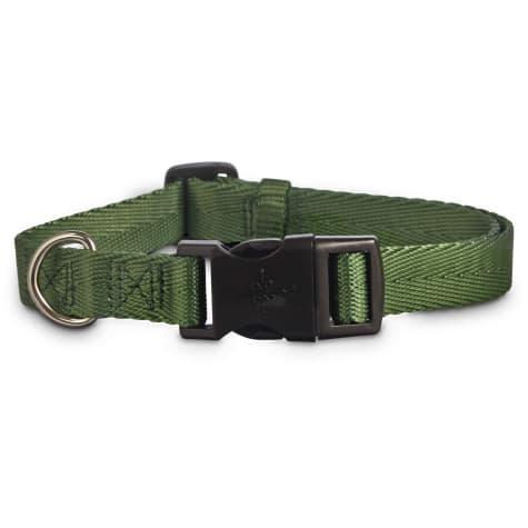 Good2Go Adjustable Dark Green Dog Collar