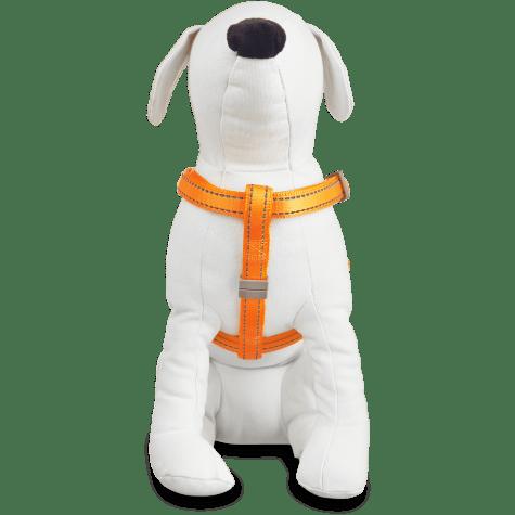 Good2Go Reflective Adjustable Padded Dog Harness in Orange