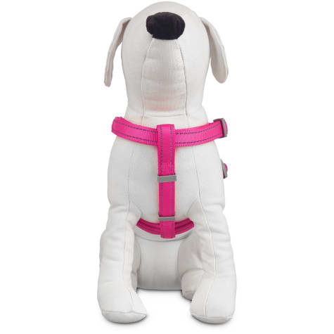 Good2Go Reflective Adjustable Padded Dog Harness in Pink