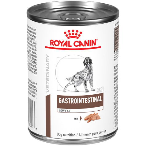 Royal Canin Veterinary Diet Gastrointestinal Low Fat Loaf Wet Dog Food