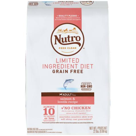 Nutro Limited Ingredient Diet Salmon & Lentils Recipe Dry Adult Dog Food