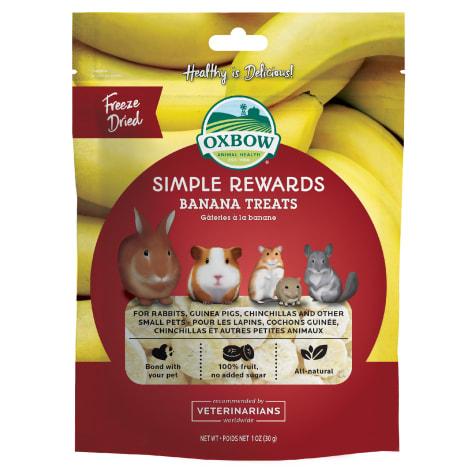 Oxbow Simple Rewards Banana Treat