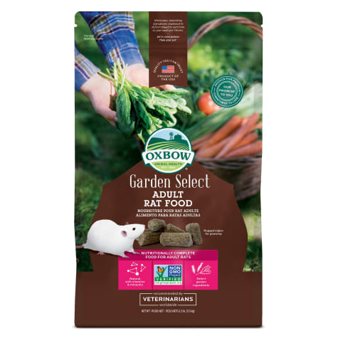 Oxbow Garden Select Fortified Food for Rats