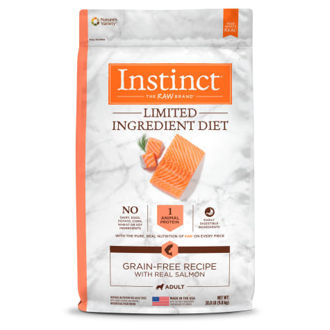Instinct Limited Ingredient Diet Grain-Free Recipe with Real Salmon Freeze-Dried Raw Coated Dry Dog Food