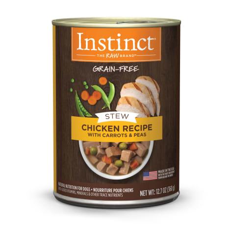 Instinct Grain-Free Stews Chicken Recipe Wet Dog Food