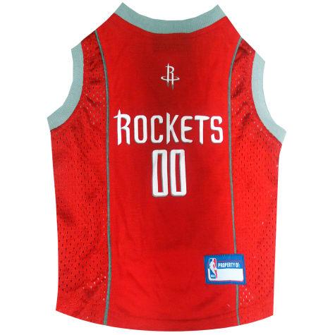 Pets First Houston Rockets Mesh Jersey