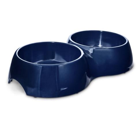 Bowlmates Navy Double Dog Bowl Base