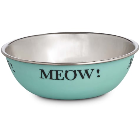 Harmony Mint Stainless Steel Cat Bowl