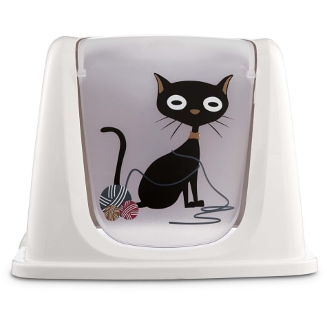 So Phresh Funny Cat Litter Box Privacy Hood