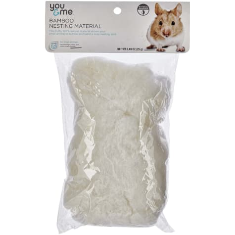 You & Me Bamboo Nesting Material for Small Animals