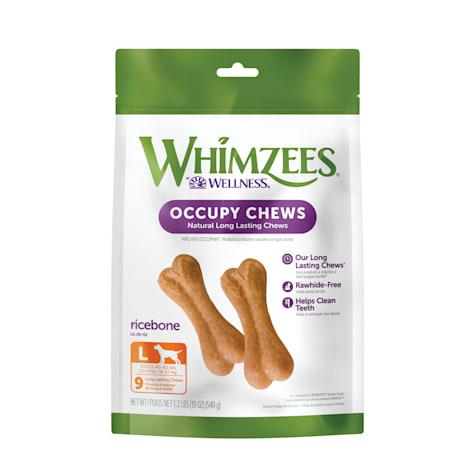 Whimzees Natural Grain Free Ricebone Dental Dog Treats