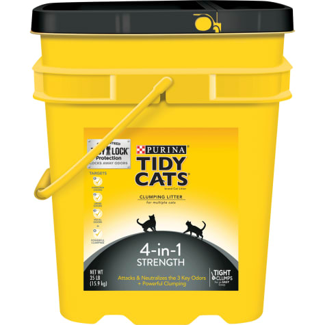 Purina Tidy Cats 4-in-1 Strength Clumping Multiple Cat Litter