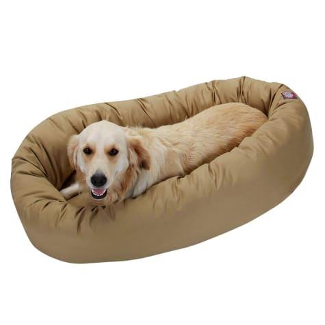 Majestic Pet Khaki Bagel Dog Bed