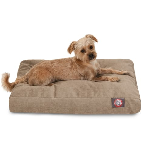 Majestic Pet Pearl Villa Shredded Memory Foam Rectangle Dog Bed