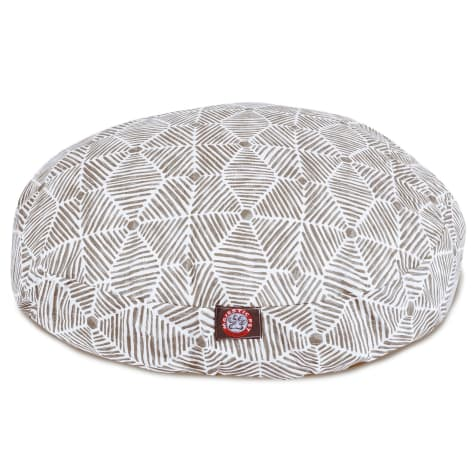 Majestic Pet Charlie Gray Round Pet Bed