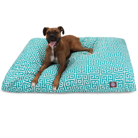 Majestic Pet Pacific Towers Shredded Memory Foam Rectangle Dog Bed