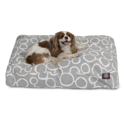 Majestic Pet Fusion Gray Rectangle Pet Bed