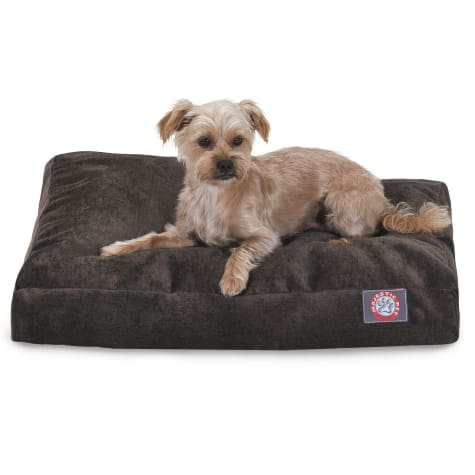 Majestic Pet Storm Villa Shredded Memory Foam Rectangle Dog Bed