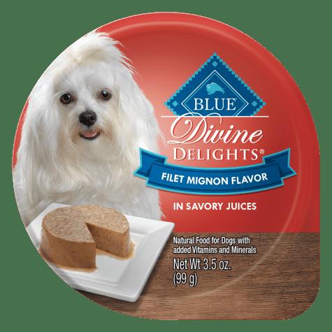 Blue Buffalo Blue Divine Delights Filet Mignon Flavor In Savory Juices Wet Dog Food