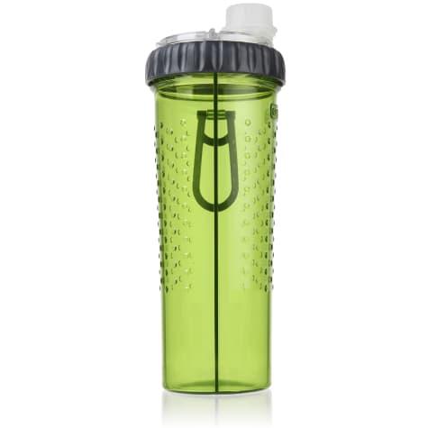 Dexas Snack-Duo Dual-Chamber Pet Bottle in Green