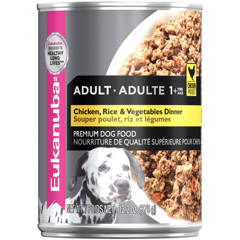 Eukanuba Chicken, Rice & Vegetables Adult Canned Dog Food