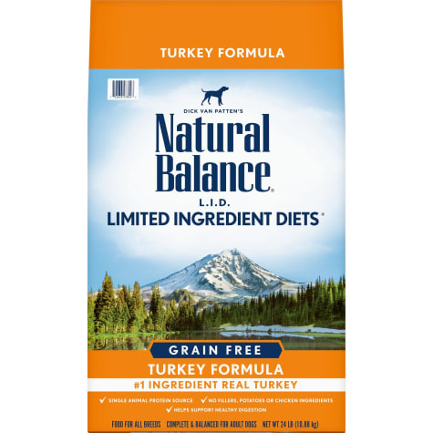 Natural Balance L.I.D. Limited Ingredient Diets High Protein Turkey Formula Dry Dog Food