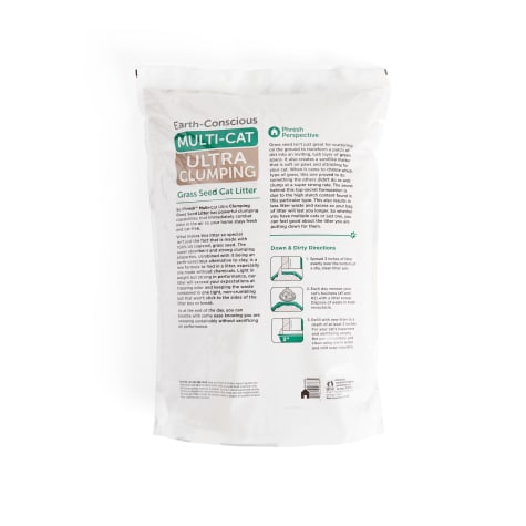 So Phresh Extreme Clumping Unscented Grass Seed Cat Litter