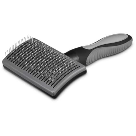 Well & Good Black Self-Cleaning Slicker Dog Brush