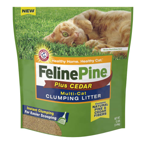 Feline Pine Plus Cedar Natural Clumping Litter