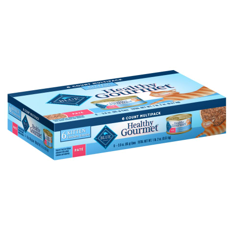 Blue Buffalo Blue Healthy Gourmet Kitten Multipack Cat Food