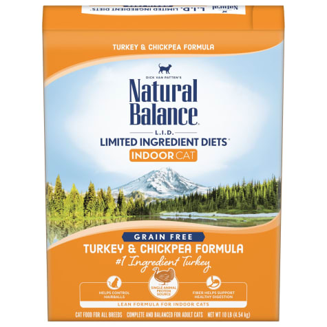 Natural Balance L.I.D. Limited Ingredient Diets Turkey & Chickpea Formula Dry Cat Food