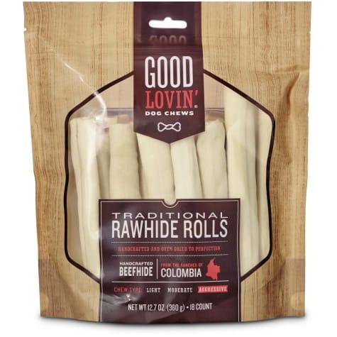 Good Lovin' Traditional Rawhide Roll Dog Chew