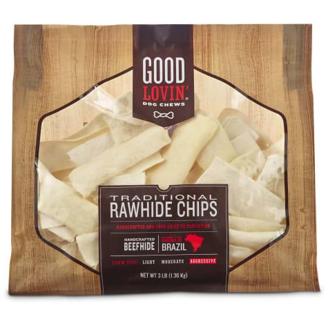 Good Lovin' Traditional Rawhide Chip Dog Chews