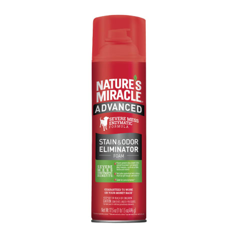 Nature's Miracle Advanced Stain & Odor Remover Foam