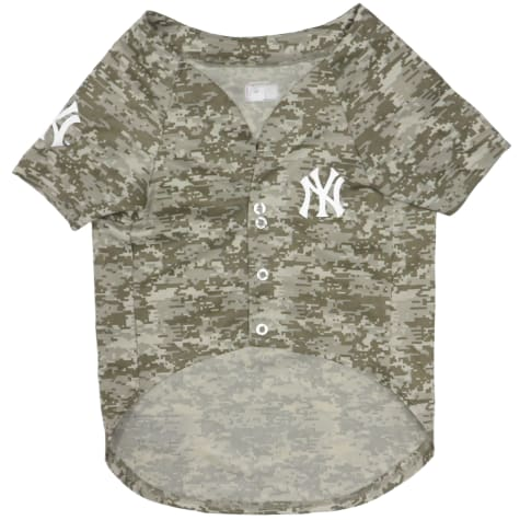 Pets First New York Yankees Camo Jersey